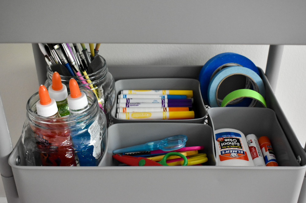 dividers for art supplies