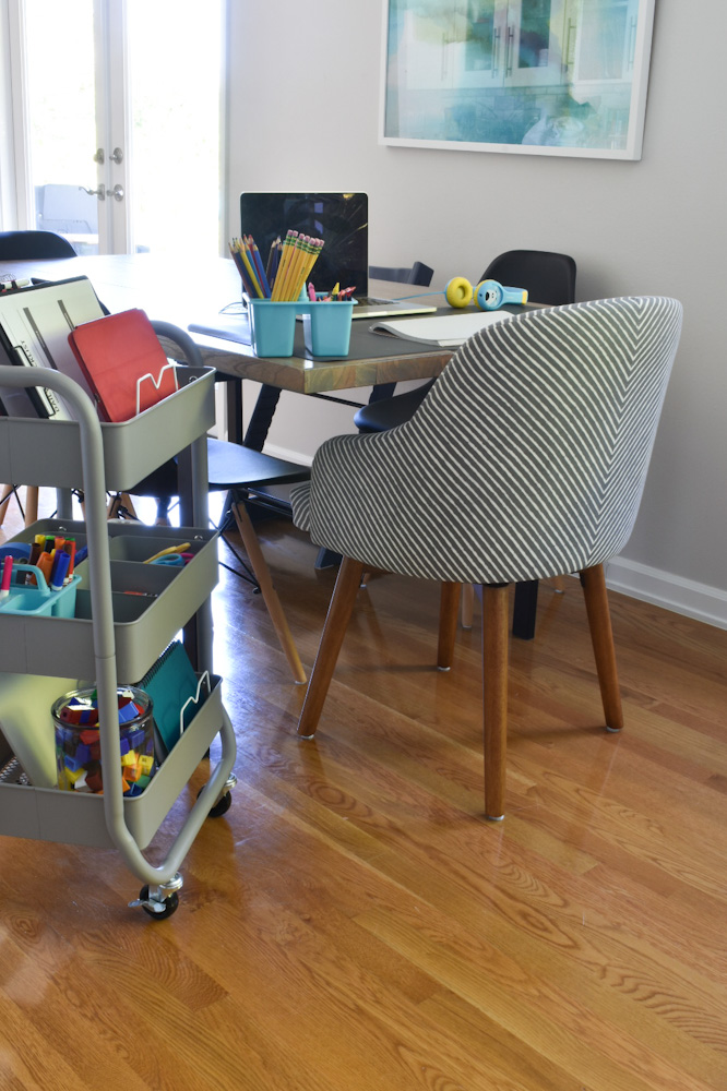 remote learning dining table