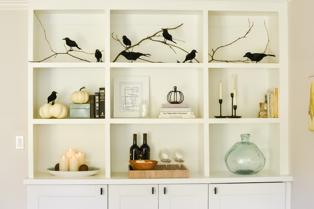halloween crow decorations
