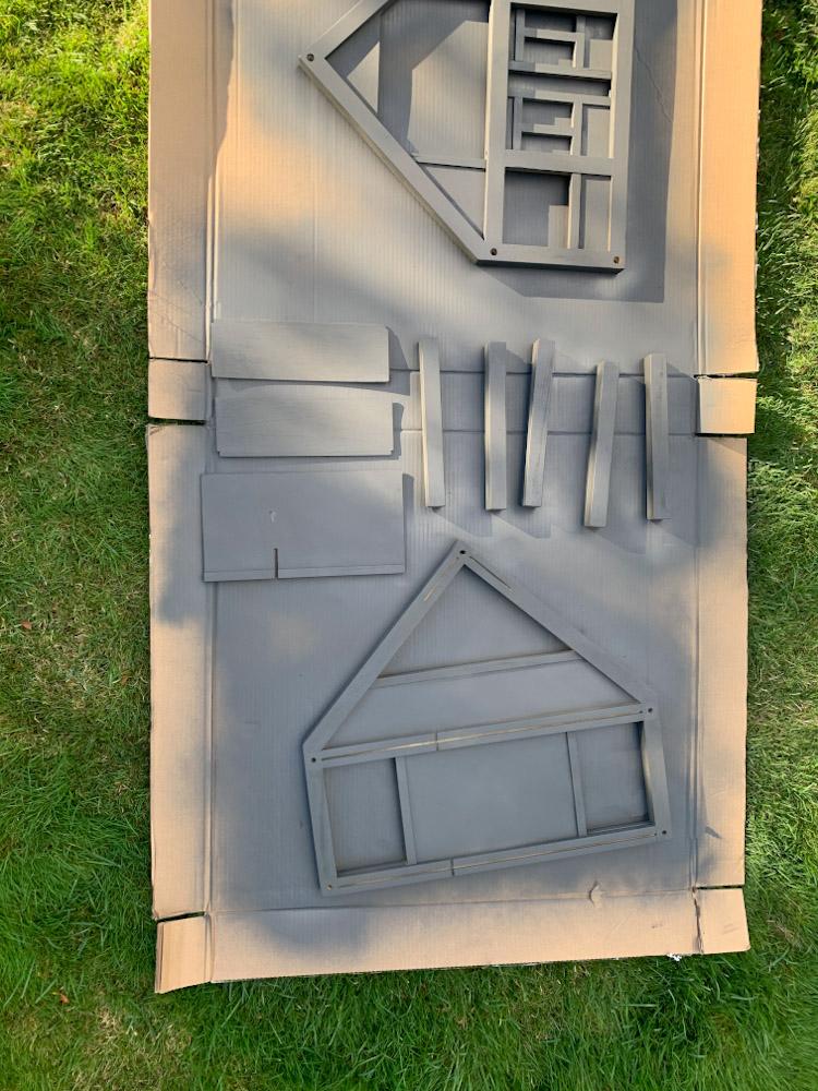 dollhouse mid spray paint