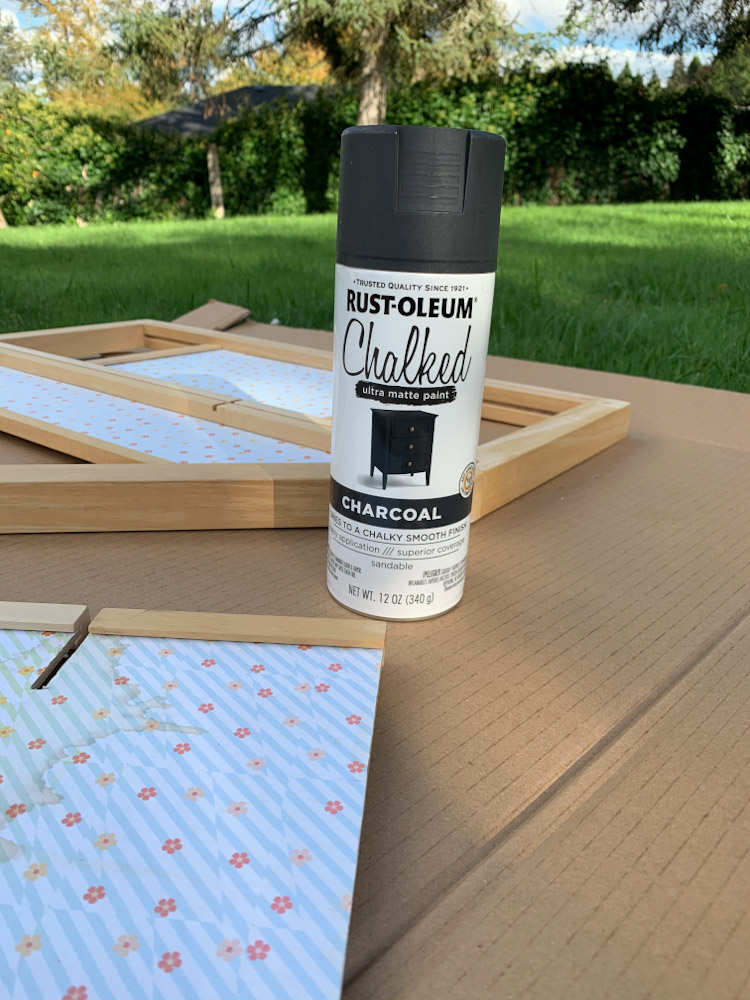 Rust-oleum chalked charcoal
