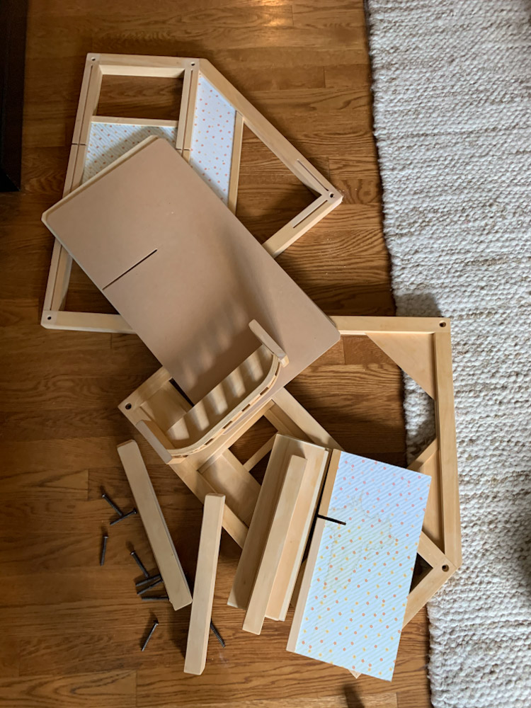 disassembled dollhouse