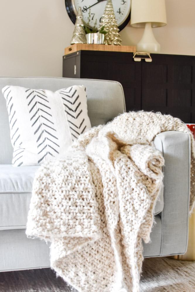 cozy sofa blanket