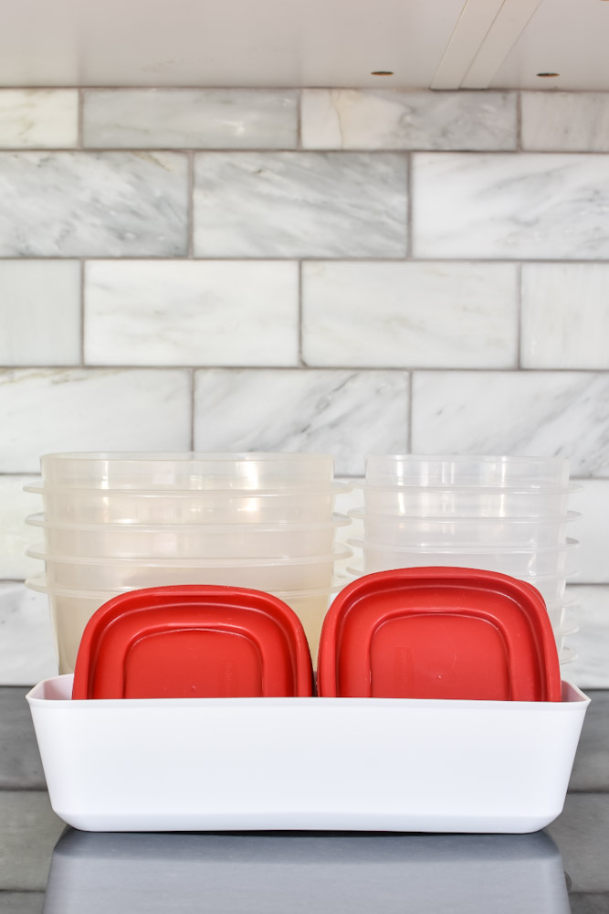 stacking food storage container
