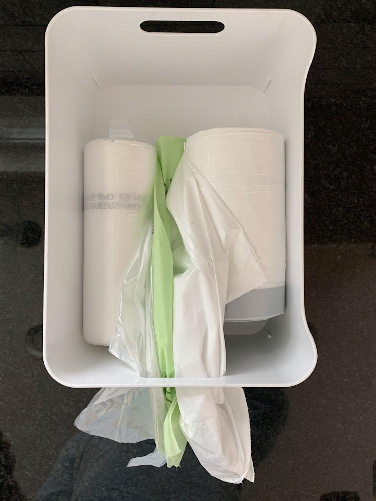 trash bag dispenser