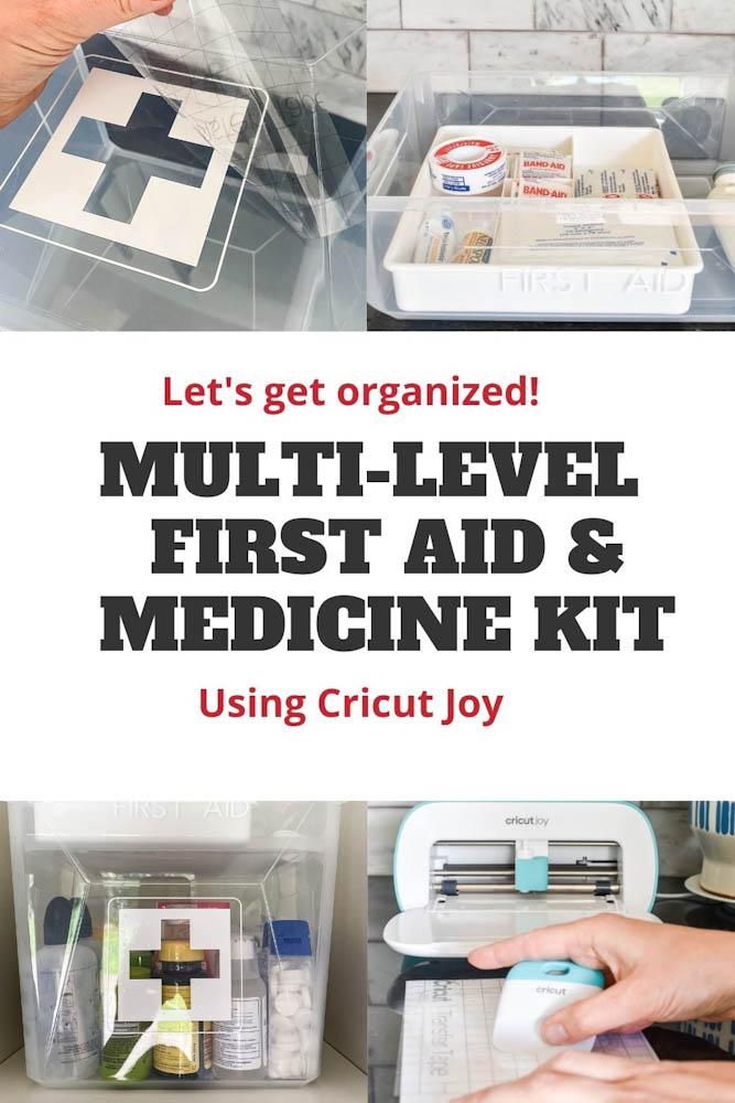 cricut label first aid kit